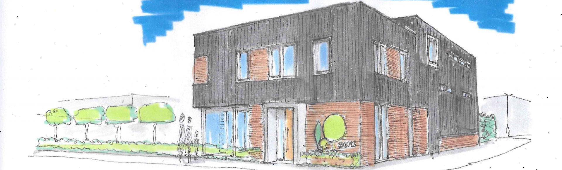Nieuwbouw bedrijfsruimte met woning Capelle aan den IJssel
