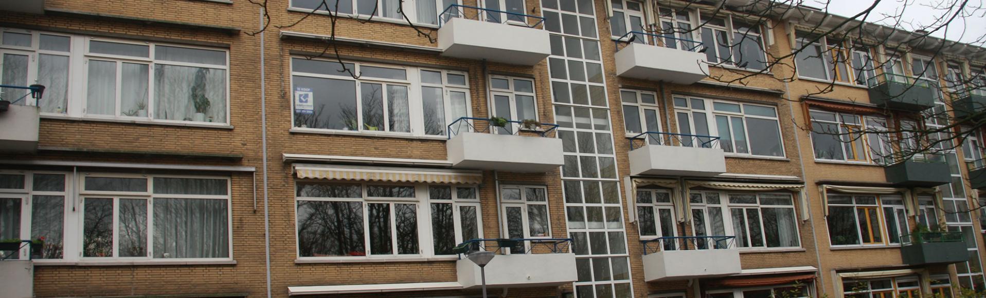 Rotterdam: Renovatie voorgevel woningen